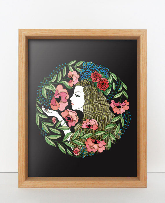 Elisabeth Aranda Illustration Art Prints