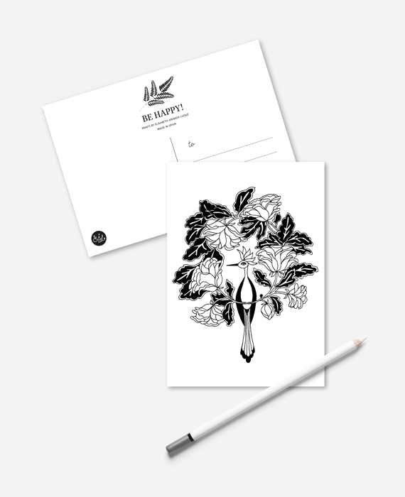 Elisabeth Aranda Illustration Postcard Set