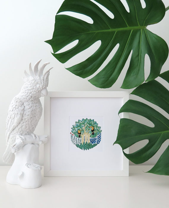 Print_The_Toucans_Forest