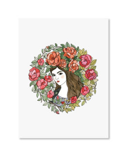 Elisabeth Aranda Illustration Art Print